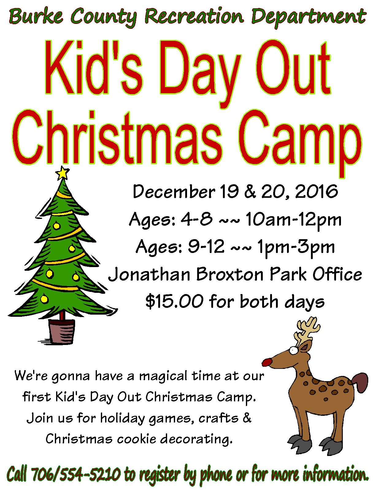 Kids Christmas Camp