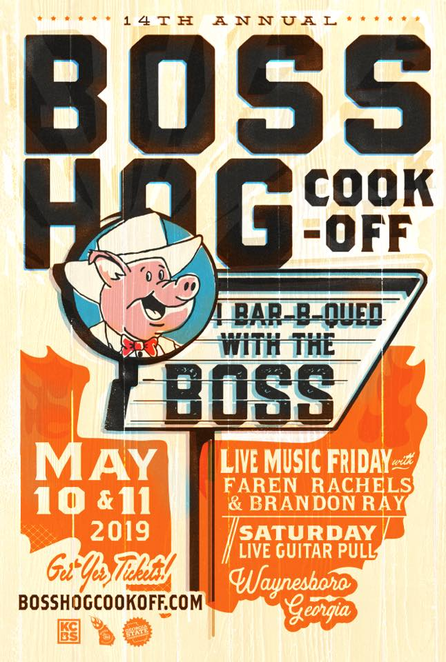 Boss Hog Cook Off May 10th & 11th