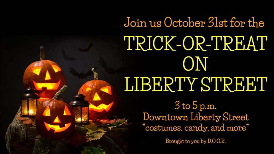 Trick or Treat on Liberty Street