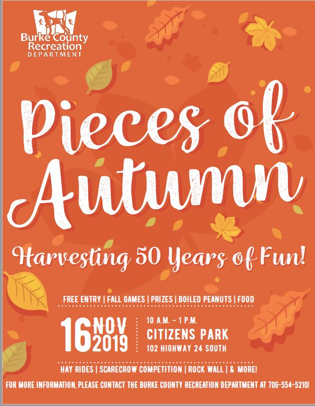 Pieces of Autumn Flyer