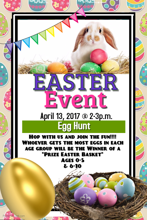 Easter Egg Hunt at the Library