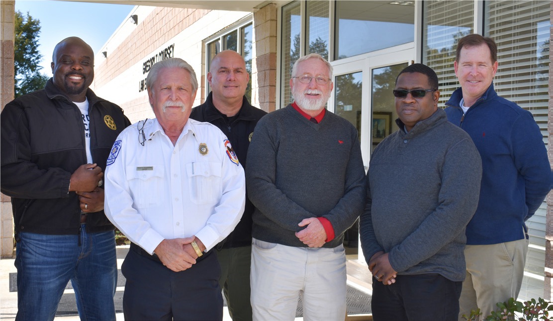 DOT & Burke County Officials Safety Partnership