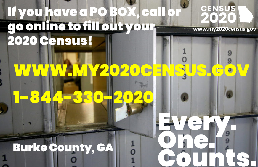 People with PO Boxes Count!
